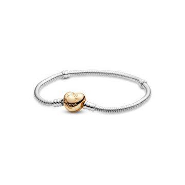Pandora Moments ezüst karkötő, shine zárral 568707C00