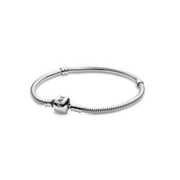 Pandora Moments ezüst karkötő, henger zárral 590702HV