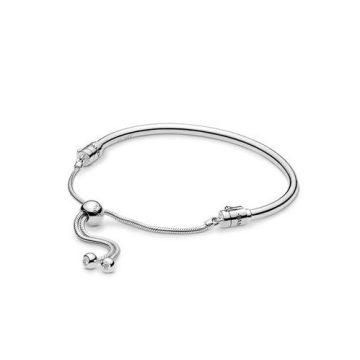 Pandora Moments ezüst sliding karperec 597953CZ