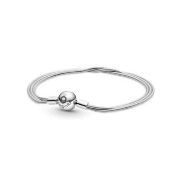 Pandora Moments többsoros kígyólánc karkötő 599338C00
