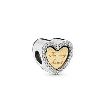 Pandora szívembe zárva charm 768760C01