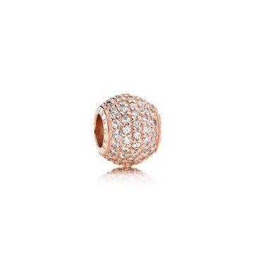 Pandora Rose Pavé Gömb Charm 781051CZ