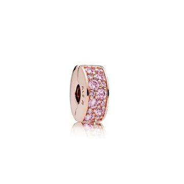 Pandora Rose Rózsaszín Ragyogó Elegancia Klip 781817PCZ