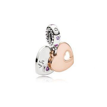 Pandora A Szívem Egy Darabja Függő Charm 787235CFP