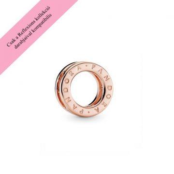 Pandora Reflexions rose logo klip charm 787598