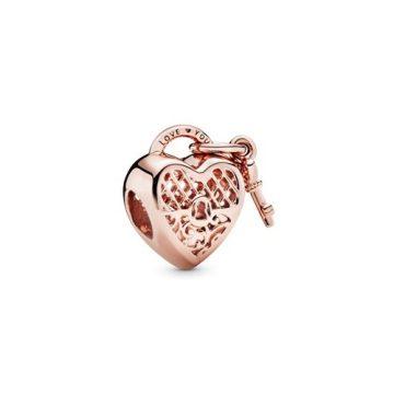 Pandora Fénylő Szerelemlakat Rose Charm 787655