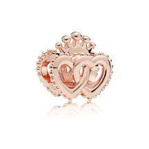 Pandora Rose Összefonódó fenséges szívek charm 787670