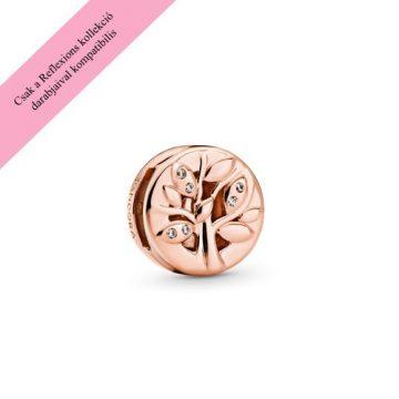 Pandora Reflexions rose szikrázó családfa klip charm 788822C01