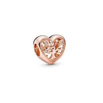 Pandora Áttört családfa szív charm 788826C01