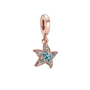 Pandora szikrázó tengeri csillag függő charm 788942C01