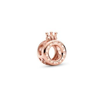 Pandora Rose logó és koronás O charm 789036C00