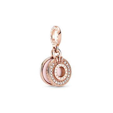 Pandora szikrázó pavé koronás O függő charm 789055C01