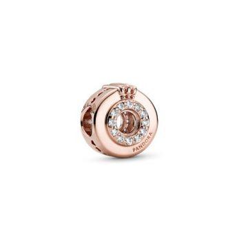 Pandora Rose pavé koronás O charm 789059C01