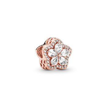 Pandora Rose szikrázó hópehely pavé charm 789224C01