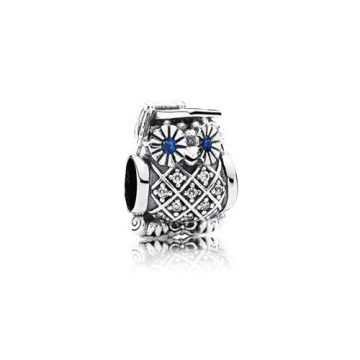 Pandora Taláros bagoly charm 791502NSB