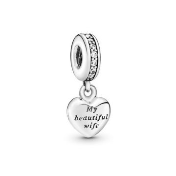 Pandora Gyönyörű feleségem függő charm 791524CZ