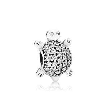 Pandora Tengeri teknős charm 791538CZ