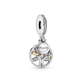 Pandora Családi Örökség Függő Charm 791728CZ
