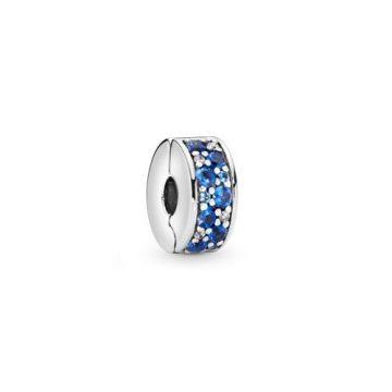 Pandora Ragyogó Kék Mozaik Klip 791817NSBMX