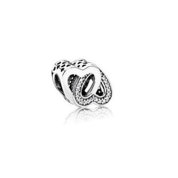 Pandora Szeretetben összefonódva charm 791880CZ