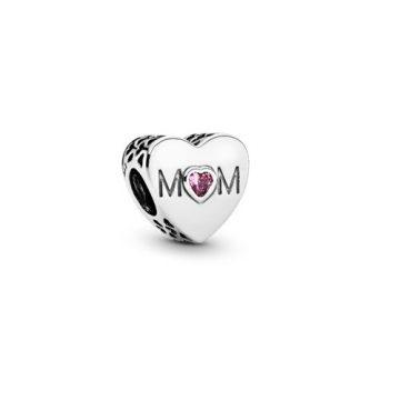 Pandora Anyai szív charm 791881PCZ