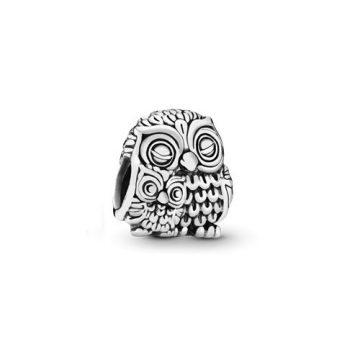 Pandora Elbűvölő bagoly charm 791966