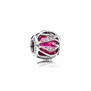 Pandora Mélyvörös fonódó ragyogás charm 791969SRU
