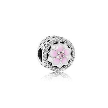 Pandora Magnólia virágzás charm 792085PCZ