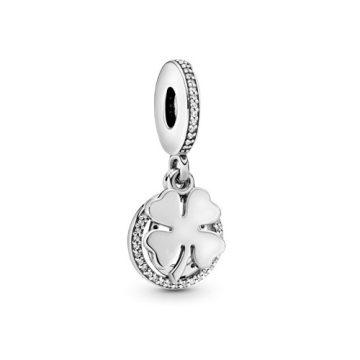 Pandora Szerencsenap függő charm 792089CZ