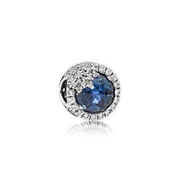 Pandora Kék káprázatos hópehely charm 796358NTB