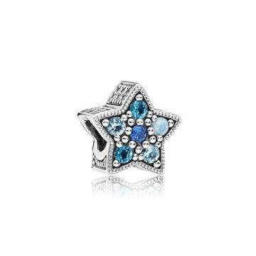 Pandora Fényes csillag charm 796379NSBMX