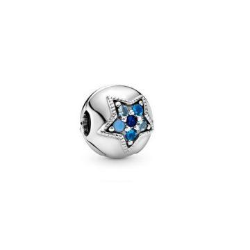 Pandora Fényes csillag klip 796380NSBMX