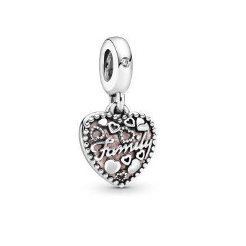 Pandora Családi Szeretet Függő Charm 796459EN28