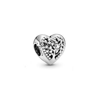 Pandora Virágzó szív charm 797058