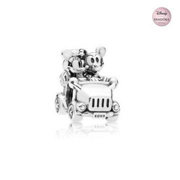 Pandora Disney Mickey & Minnie vintage autó charm 797174