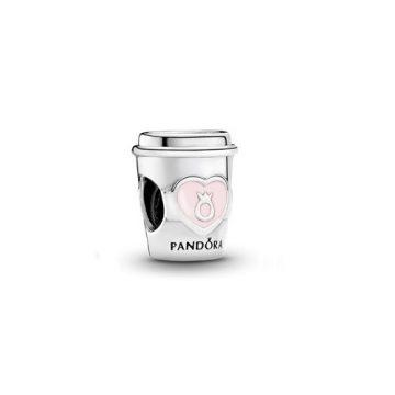 Pandora Kávé elvitelre charm 797185EN160
