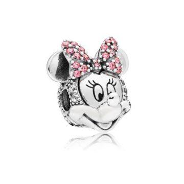 Pandora Disney Csillámló Minnie portré klip 797496CZS