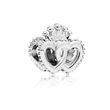 Pandora Összefonódó fenséges szívek charm 797670