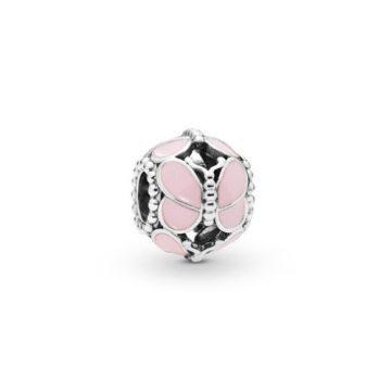 Pandora Rózsaszín pillangók charm 797855EN160