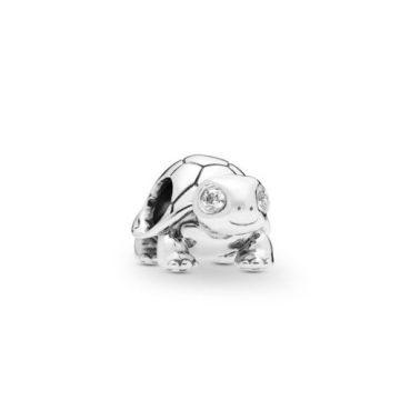 Pandora Csillogó szemű teknőc charm 797878CZ