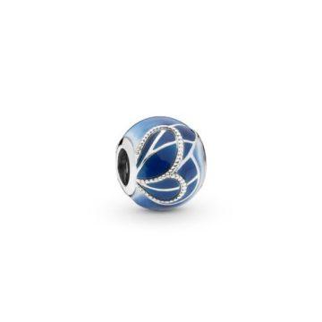 Pandora Kék pillangószárny charm 797886ENMX
