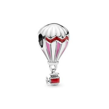 Pandora Piros hőlégballon charm 798055ENMX