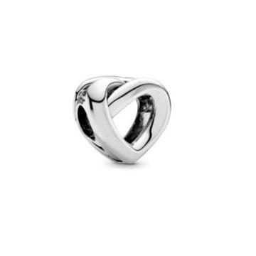 Pandora Összefonódó szív charm 798081