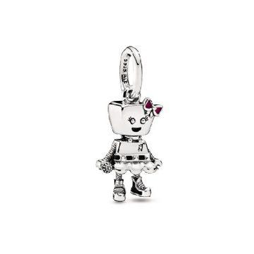 Pandora Punk Robotlány Függő Charm 798245ENMX