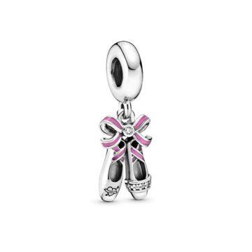 Pandora Punk Balettcipő Függő Charm 798339CZ