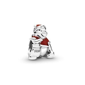 Pandora Disney Micimackó mézes bödön karácsonyi charm 798451C01