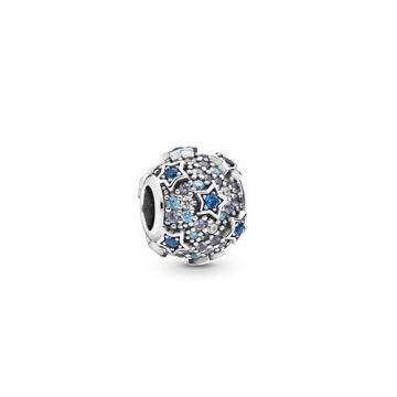 Pandora Kiemelt csillagok pavé charm 798467C01