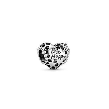 Pandora Bee Happy lépesméz szív charm 798769C00