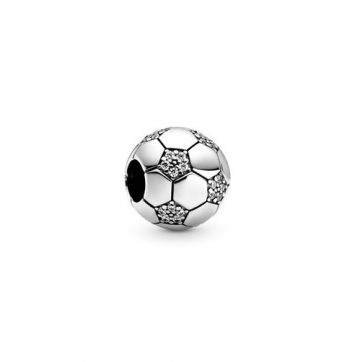 Pandora Szikrázó futball charm 798795C01