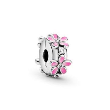 Pandora Rózsaszín százszorszép klip charm 798809C01